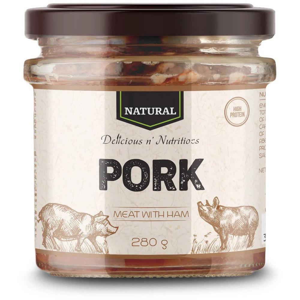 Delicious n Nutritious Свинско месо в буркан