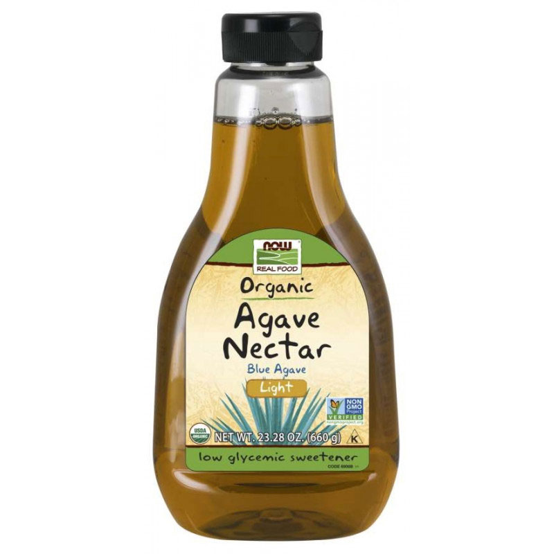 NOW Foods Agave Syrup Light Organic