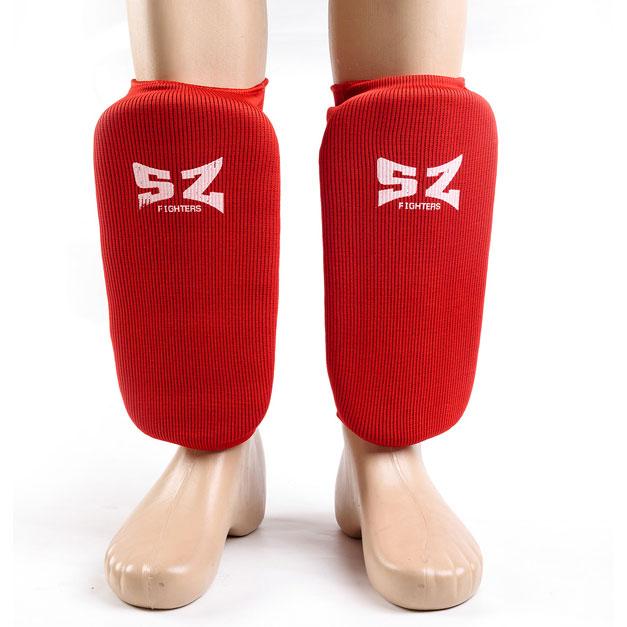SZ FIGHTERS Памучни протектори за крака без защита на ходилото