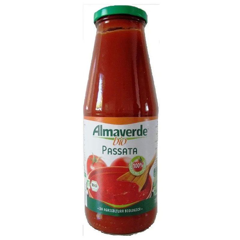 Almaverde Bio Био доматено пюре бутилка