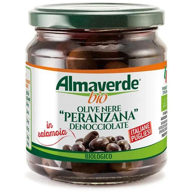 Almaverde Bio Био черни маслини в буркан
