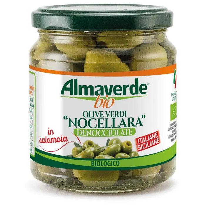 Almaverde Bio Био зелени маслини в буркан