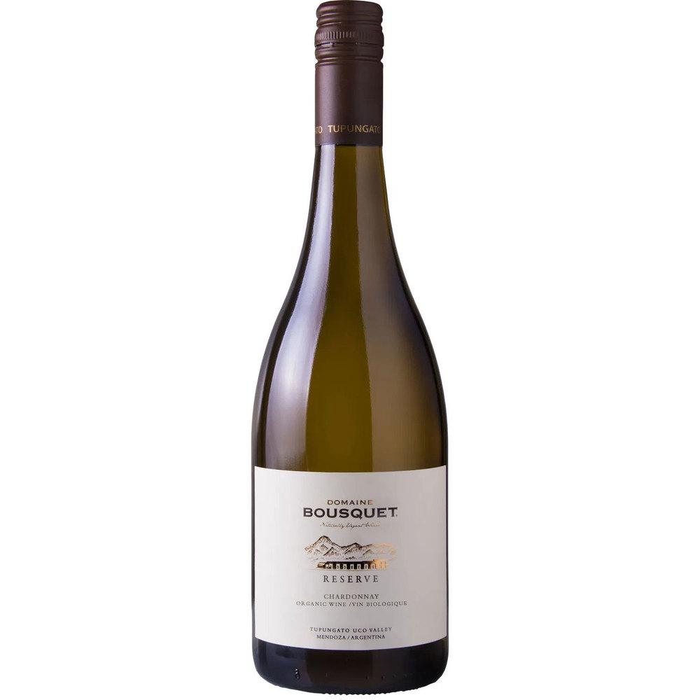 Domaine Bousquet Био бяло вино Reserva Chardonnay 2019