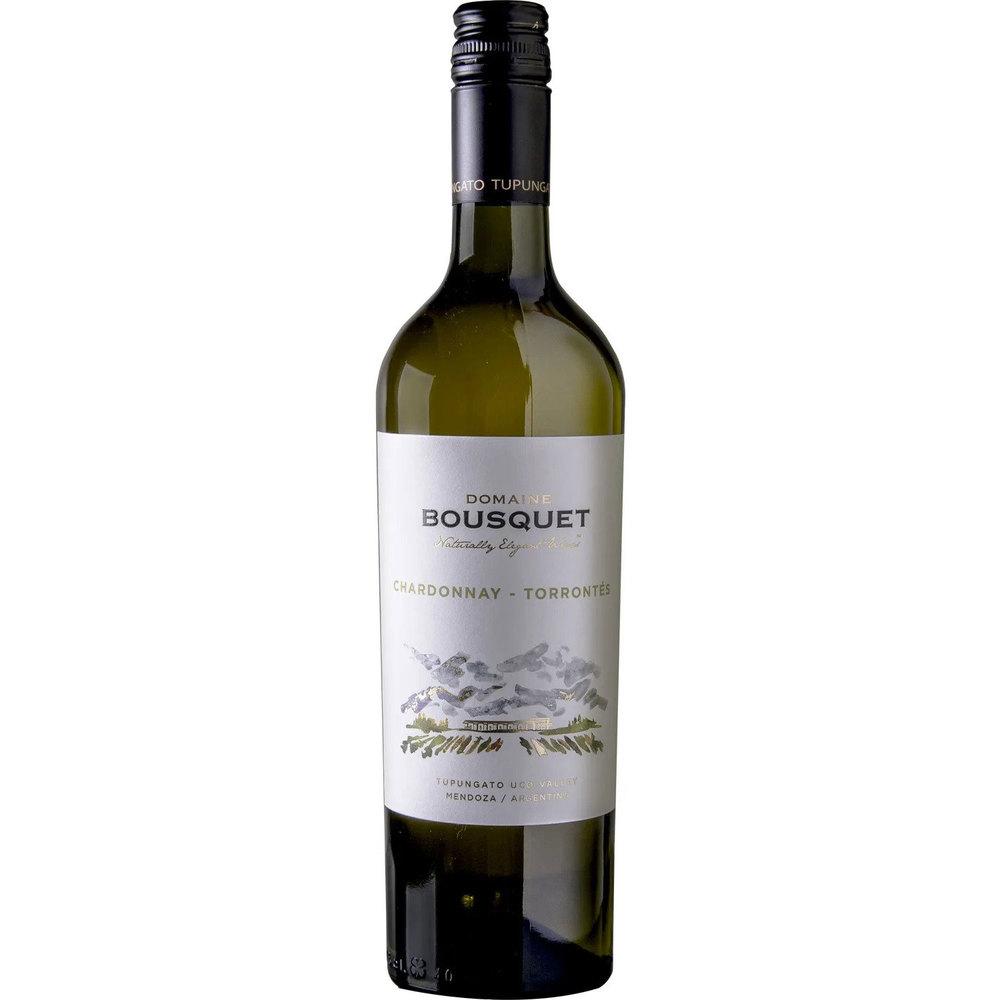 Domaine Bousquet Био бяло вино Premium Torrontes Chardonnay 2020