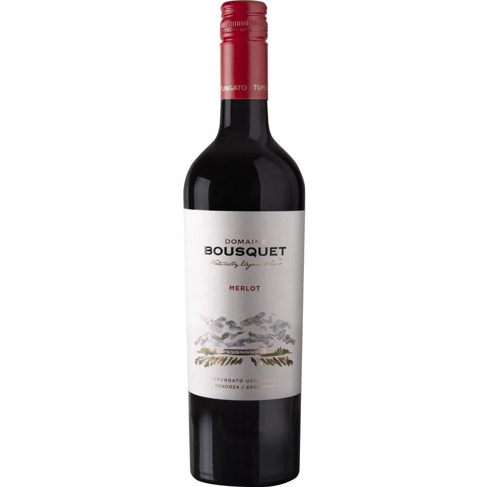 Domaine Bousquet Био червено вино Premium Merlot 2020