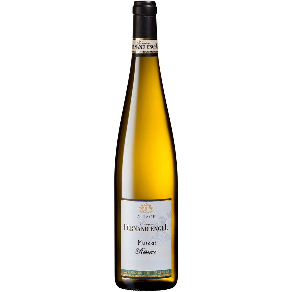 Domaine Fernand Engel Био бяло вино Muscat Reserve 2019