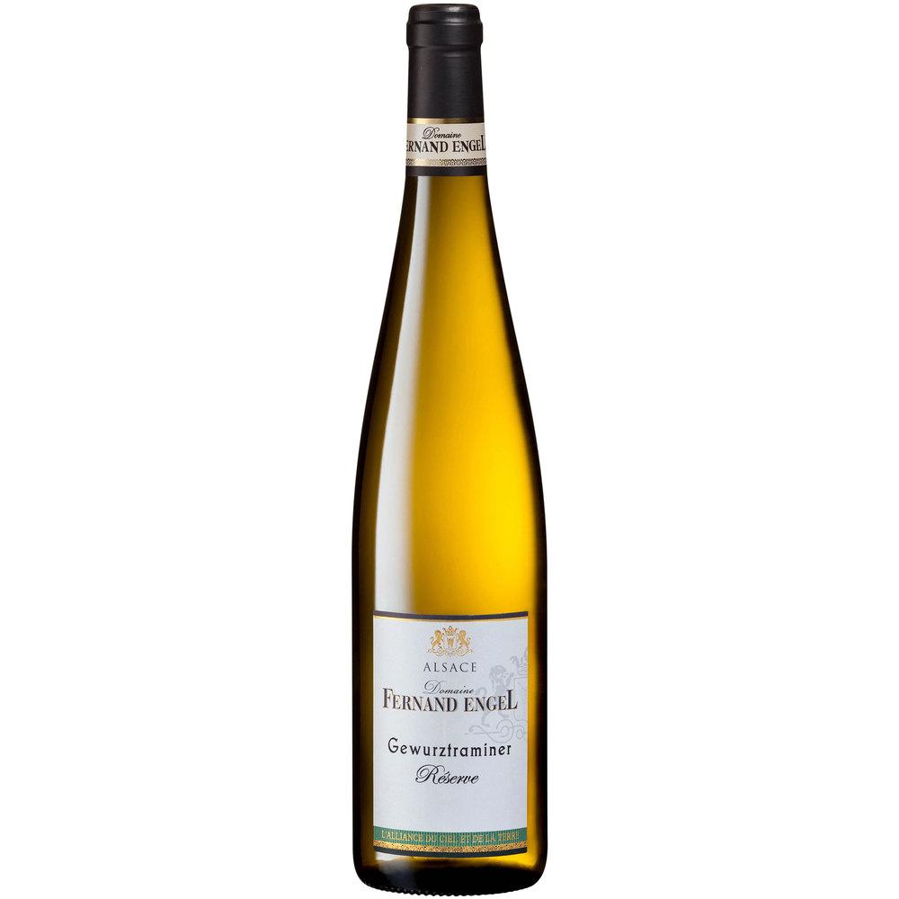 Domaine Fernand Engel Био бяло вино Gewurztraminer Reserve 2018