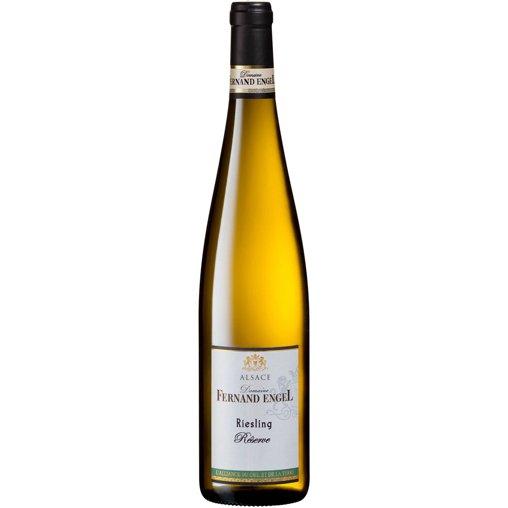 Domaine Fernand Engel Био бяло вино Riesling Reserve 2019