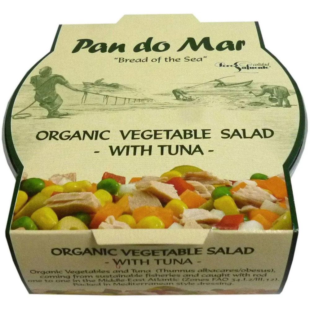 Pan Do Mar Био зеленчукова салата с риба тон