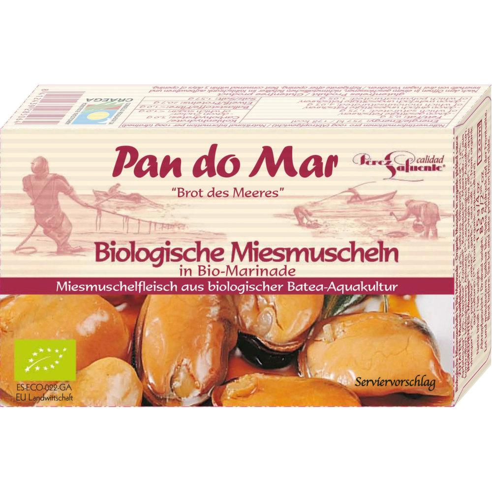 Pan Do Mar Био миди в осолен сос