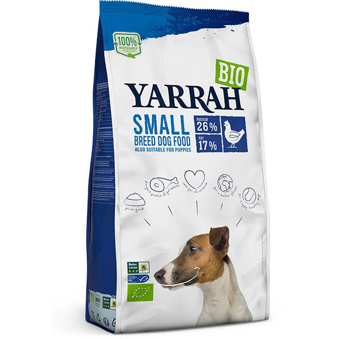 Yarrah Био кучешка храна суха за малки породи