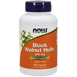 NOW Foods Black walnut hulls