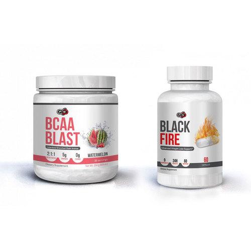 Pure Nutrition Термогенен стак за отслабване с BCAA