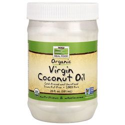 NOW Foods Coconut Oil Organic Virgin