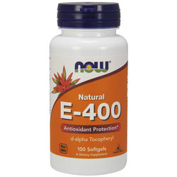 NOW Foods Vitamin E-400 IU D-Alpha
