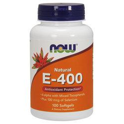NOW Foods Vitamin E-400 + Selenium