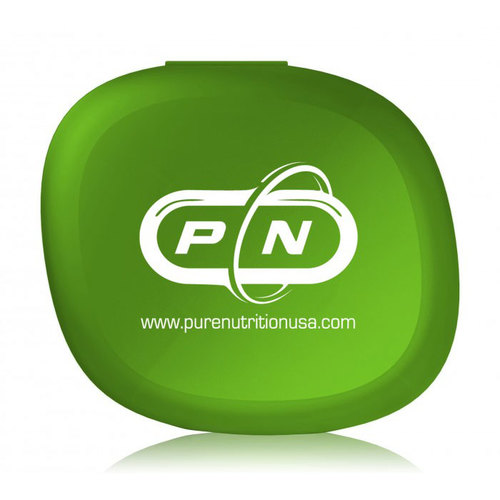 Pure Nutrition Кутия за витамини Rainbow Oval