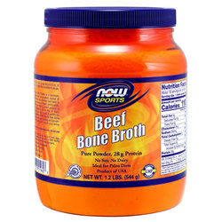 NOW Foods Beef Protein Bone Broth