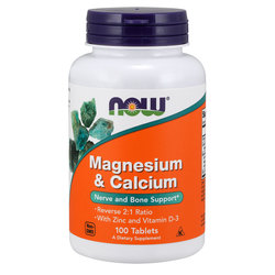 NOW Foods Magnesium & Calcium 2:1