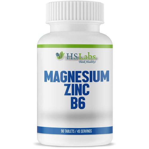 HS Labs Magnesium, Zinc, Vitamin B6