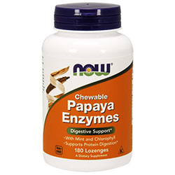 NOW Foods Papaya enzyme