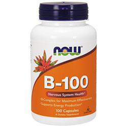 NOW Foods Витамин B-100