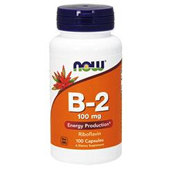 NOW Foods Витамин B-2