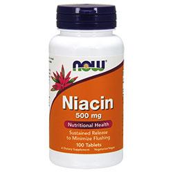 NOW Foods Витамин B3