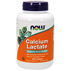 NOW Foods Calcium Lactate