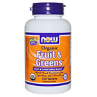 NOW Foods Fruit & Greens™ Organic