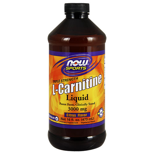 NOW Foods L-Carnitine Liquid 3000 mg