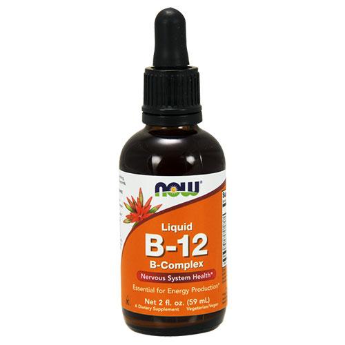 NOW Foods Витамин B-12 Complex Liquid