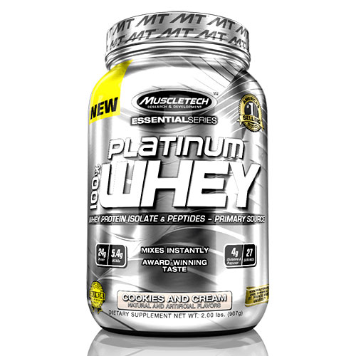 Muscle Tech Platinum 100% Whey