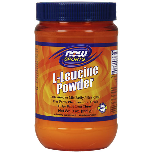 NOW Foods L-Leucine Powder