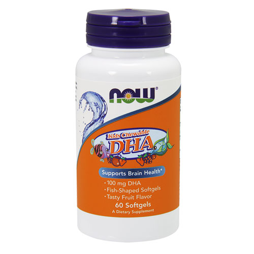 NOW Foods DHA Kid`s Chewable