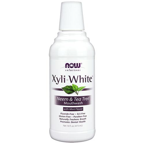 NOW Foods Mедицинска вода против плака - XyliWhite
