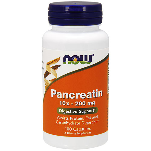NOW Foods Pancreatin