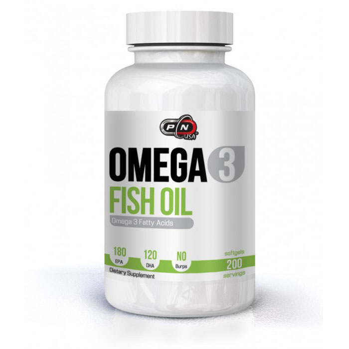 Pure Nutrition Omega-3 Fish Oil 180 EPA/ 120 DHA