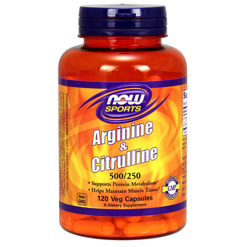 NOW Foods Arginine & Citrulline