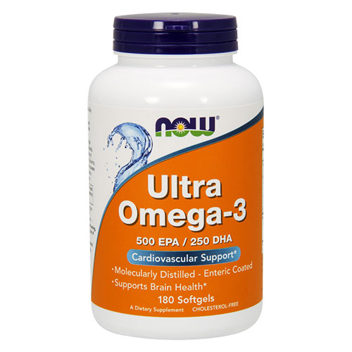 NOW Foods Ultra omega 3 fish oil