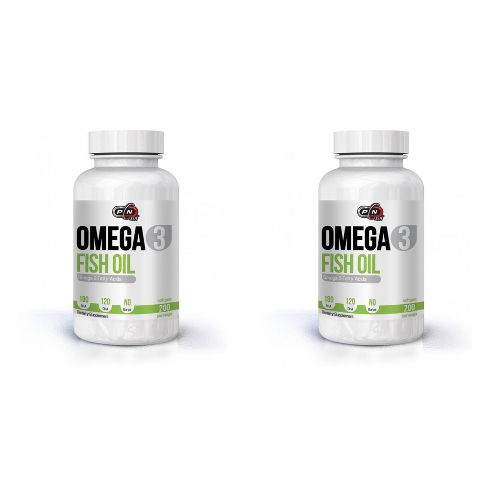 Pure Nutrition Omega-3 Fish Oil 180 EPA/ 120 DHA