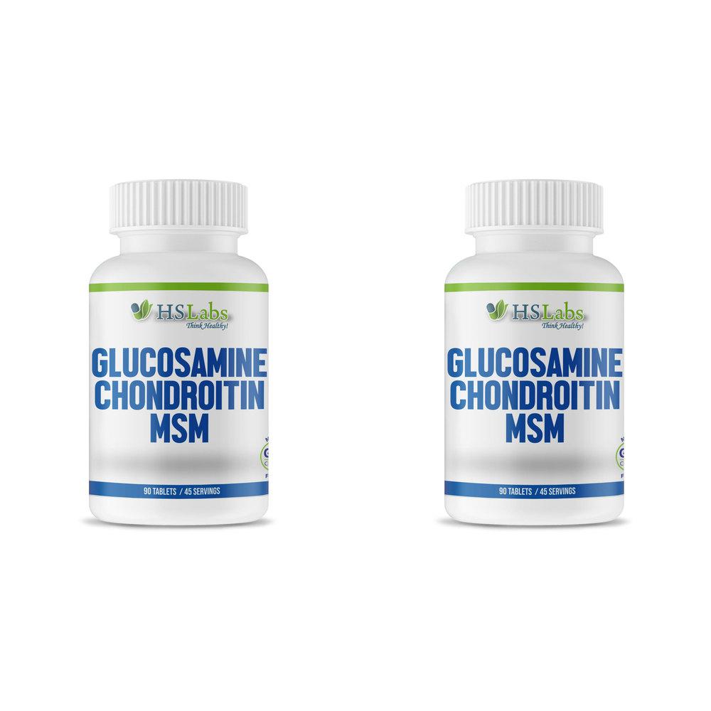 HS Labs Glucosamine, Chondroitin & MSM