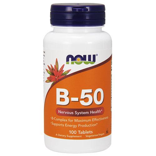NOW Foods Витамин B-50