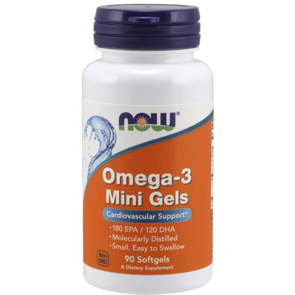 NOW Foods Omega-3 Mini Gels