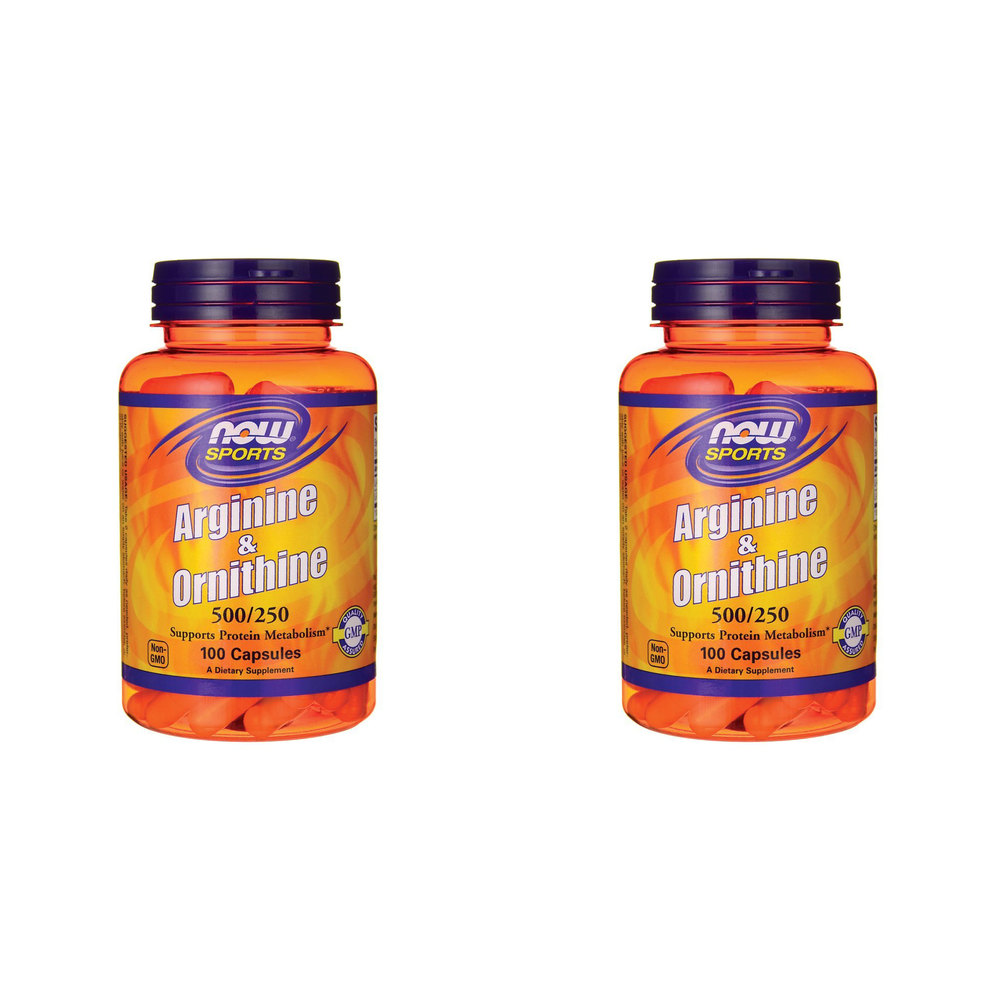 NOW Foods Arginine/ornithine