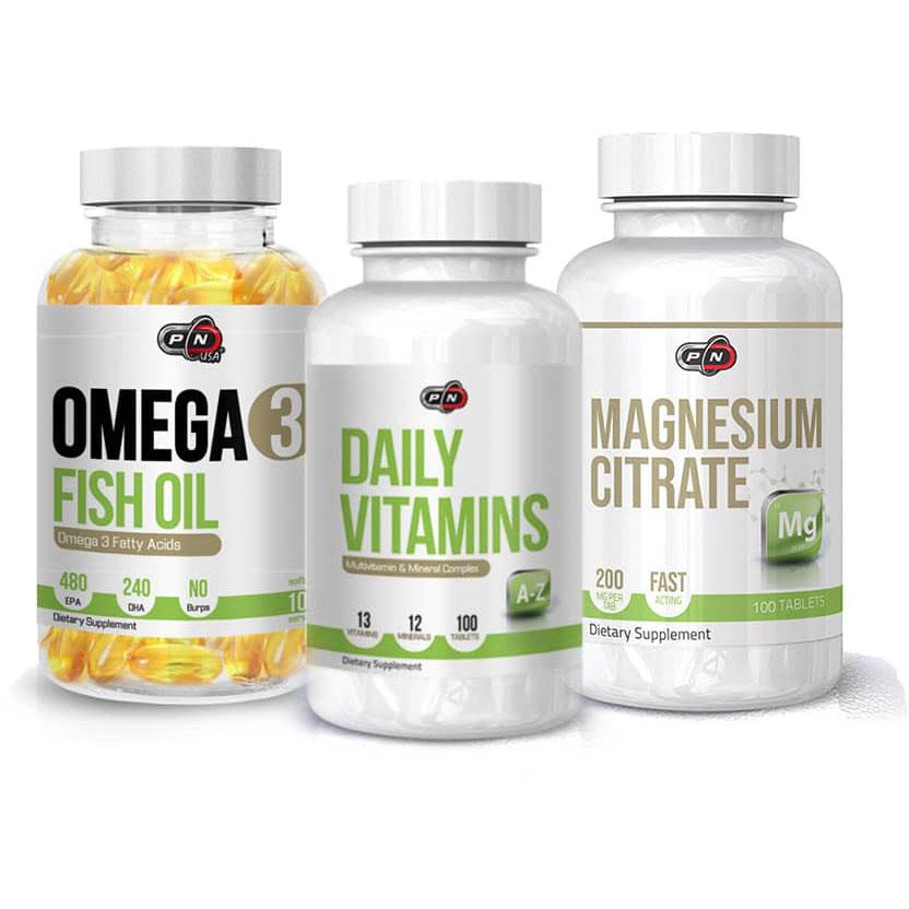 Ежедневен основен пакет за здраве