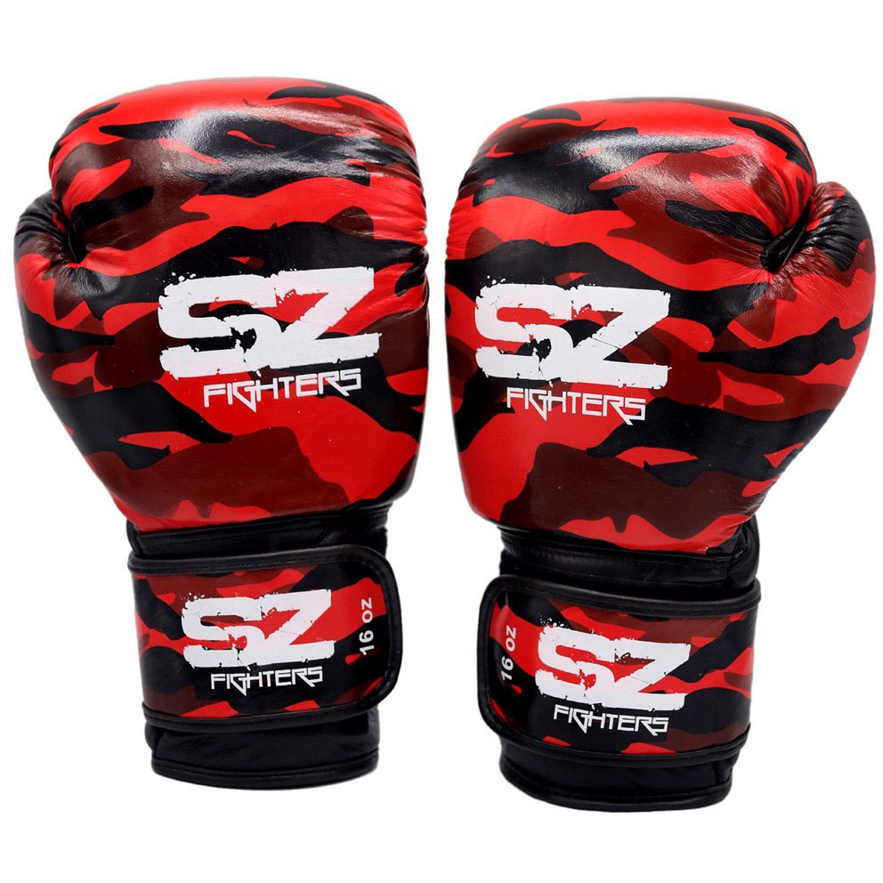 SZ FIGHTERS Боксови ръкавици Camo