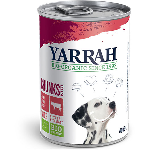 Yarrah Био кучешка храна хапки