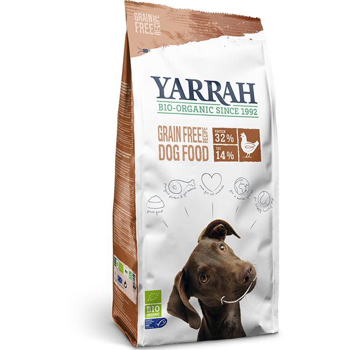 Yarrah Био кучешка храна суха без зърно