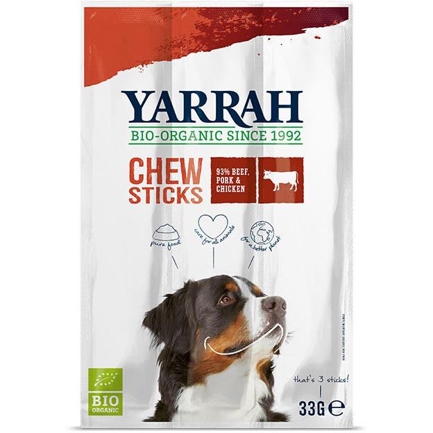 Yarrah Био кучешко лакомство пръчици за дъвчене